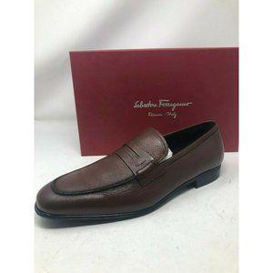 New Salvatore Ferragamo Brown Shoes Fiorino